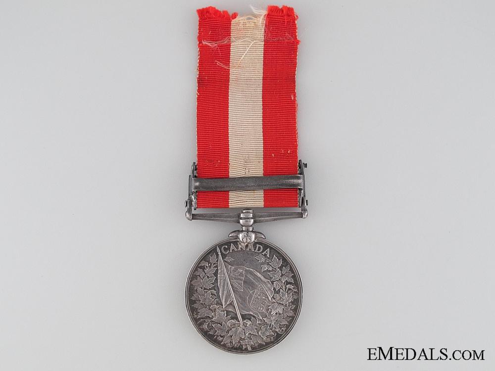 Canada General Service Medal, Seaman George Mackay, Toronto Naval Brigade