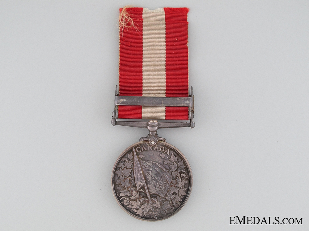 Canada General Service Medal, Private John Goldie, Port Stanley Marine Company