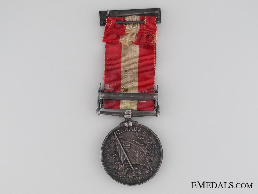 Canada General Service Medal, Seaman John S. McLeod, Hamilton Naval Brigade