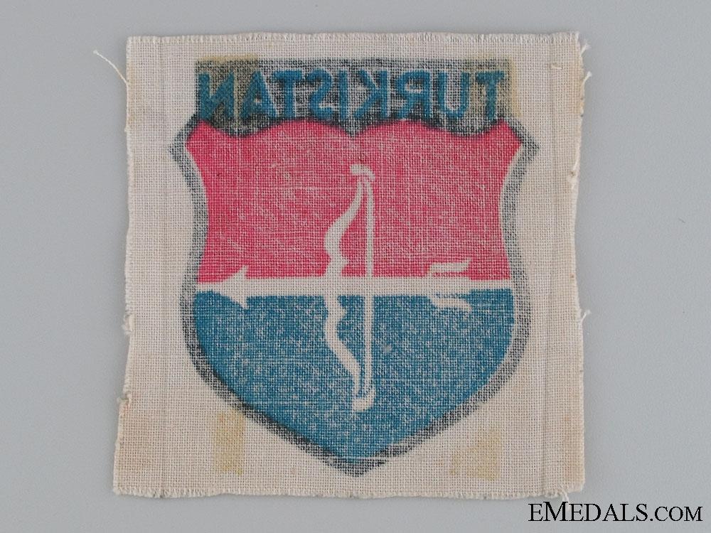 Waffen SS Turkistan Units Volunteer Sleeve Shield