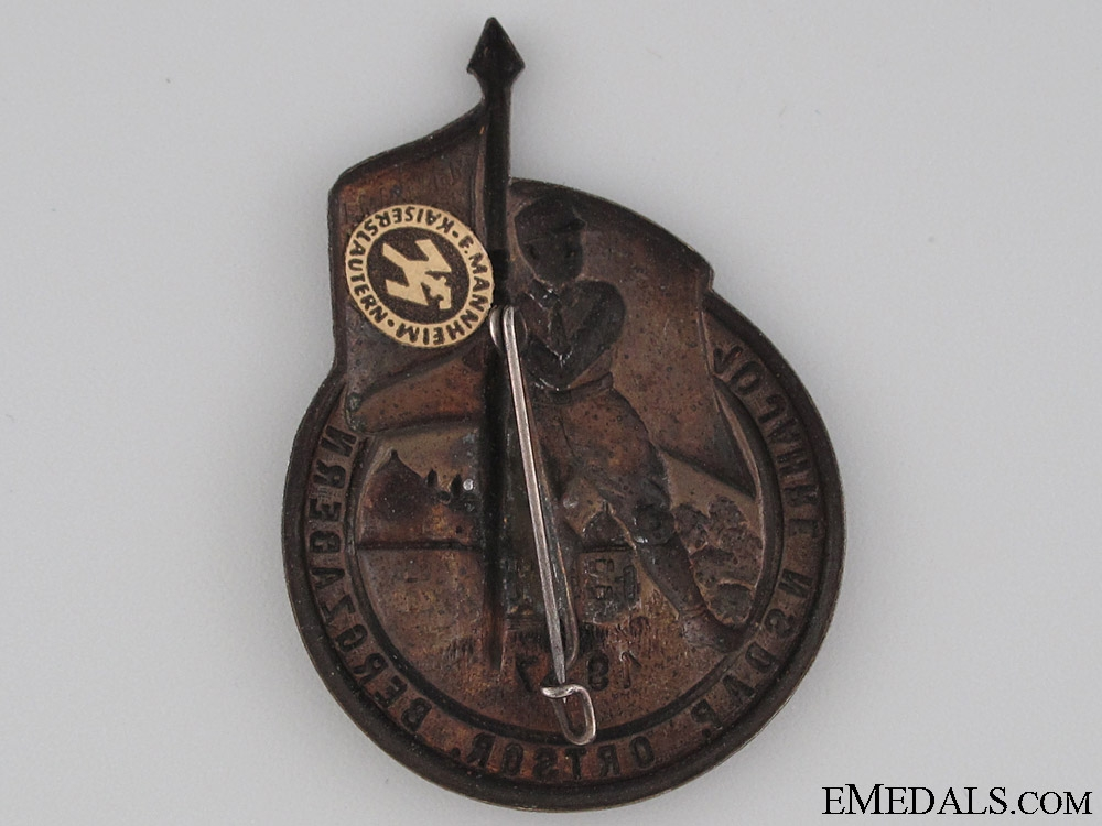 NSDAP Day Badge 1937