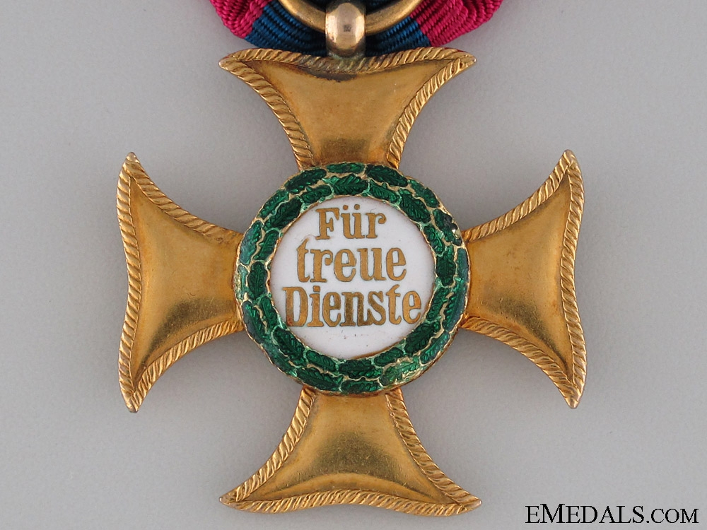 A Gold Merit Cross 1st Class