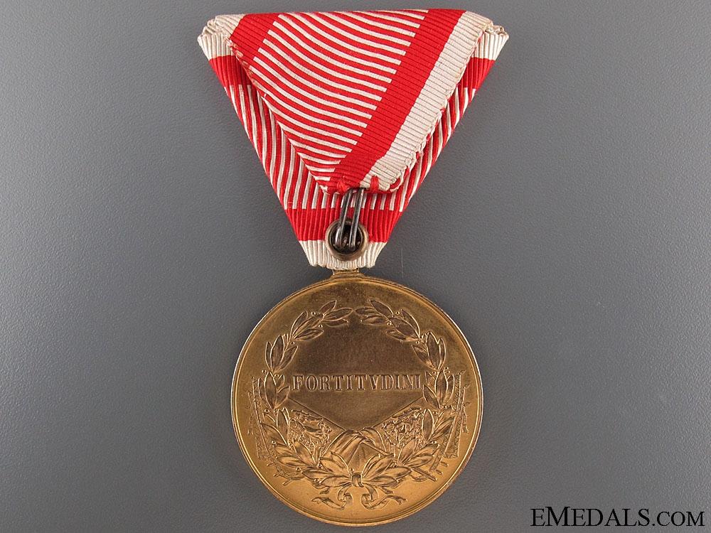 WWI Austrian Golden Bravery Medal