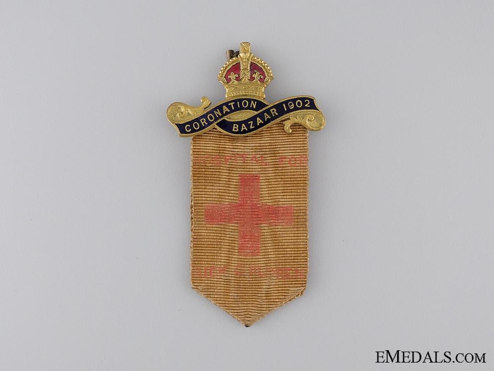 Imperial Own Coronation Bazaar Hospital for Sick Children Badge