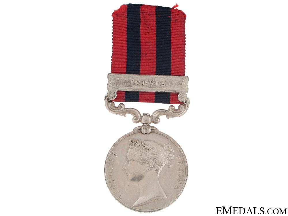 India General Service Medal 1854 - Persia