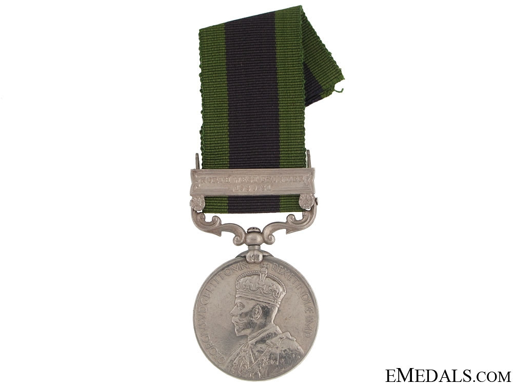 India General Service Medal - Prince Albert Victor's Own Cavalry