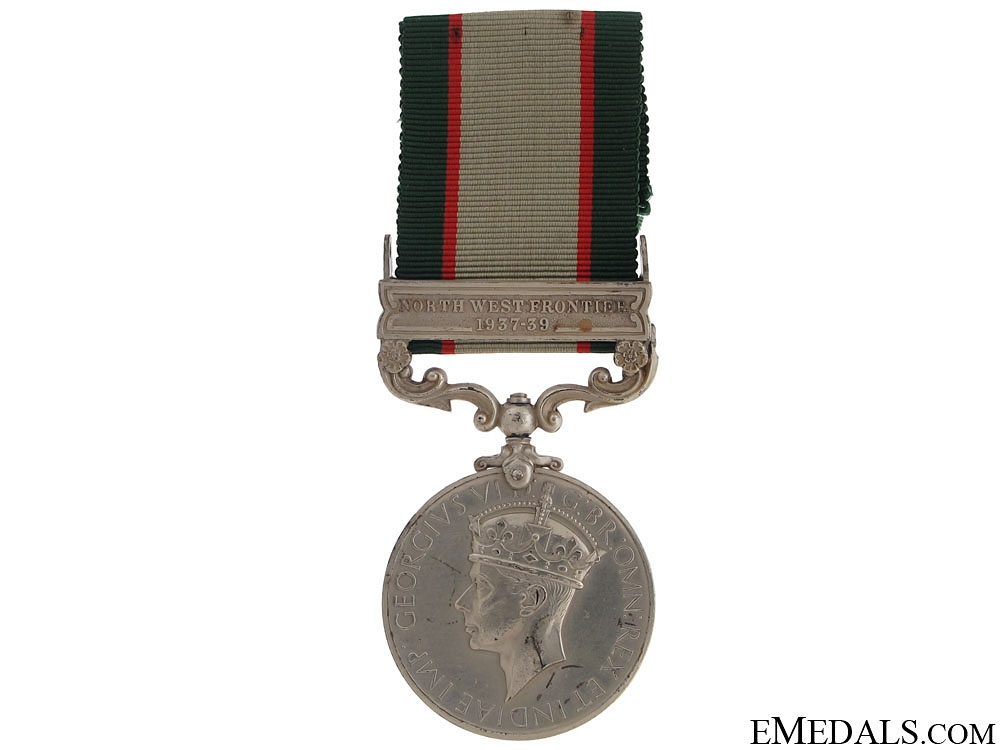 India General Service Medal 1936-39 - NWF
