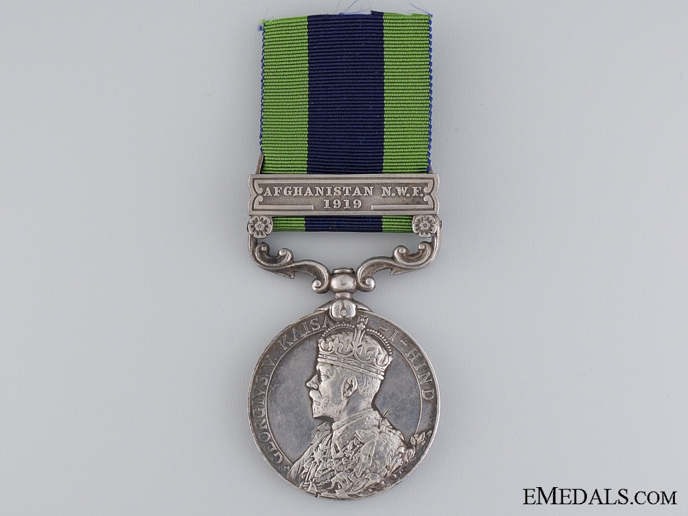 India General Service Medal to the 13th Lancers