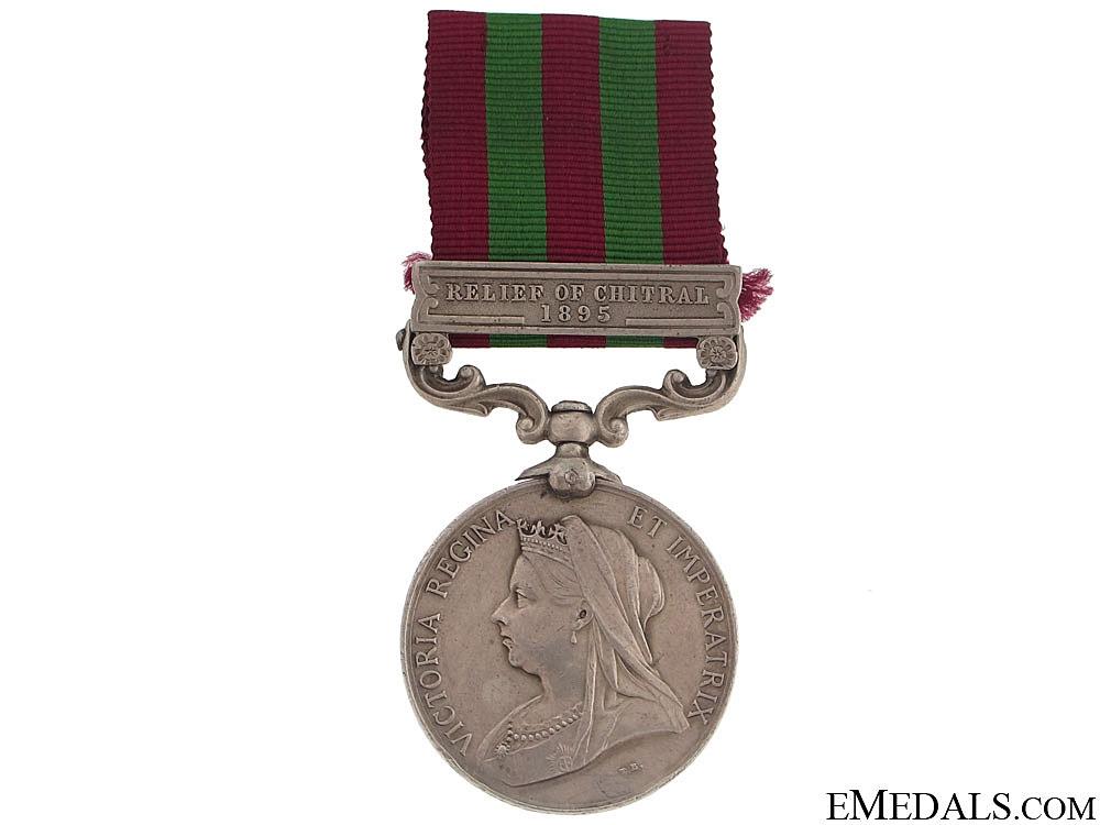 India Medal 1895-1902 - E.Surry Regt
