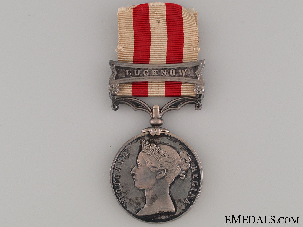India Mutiny Medal - 20th Regiment of Foot