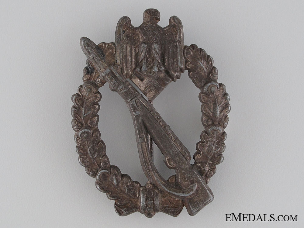 Infantry Badge; Bronze Grade