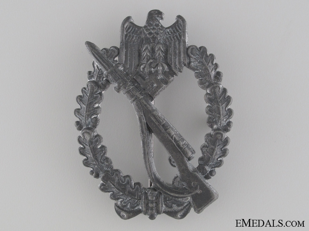 Infantry Badge; Silver Grade