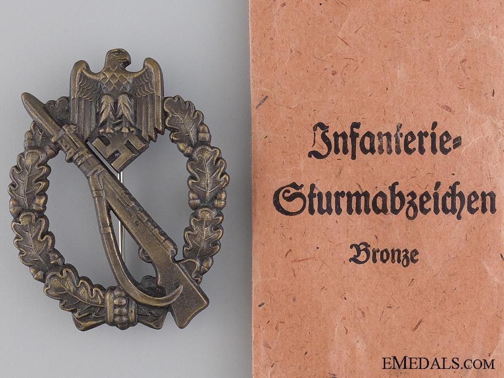 Infantry Badge; Bronze Grade by Josef Feix S¡_hne