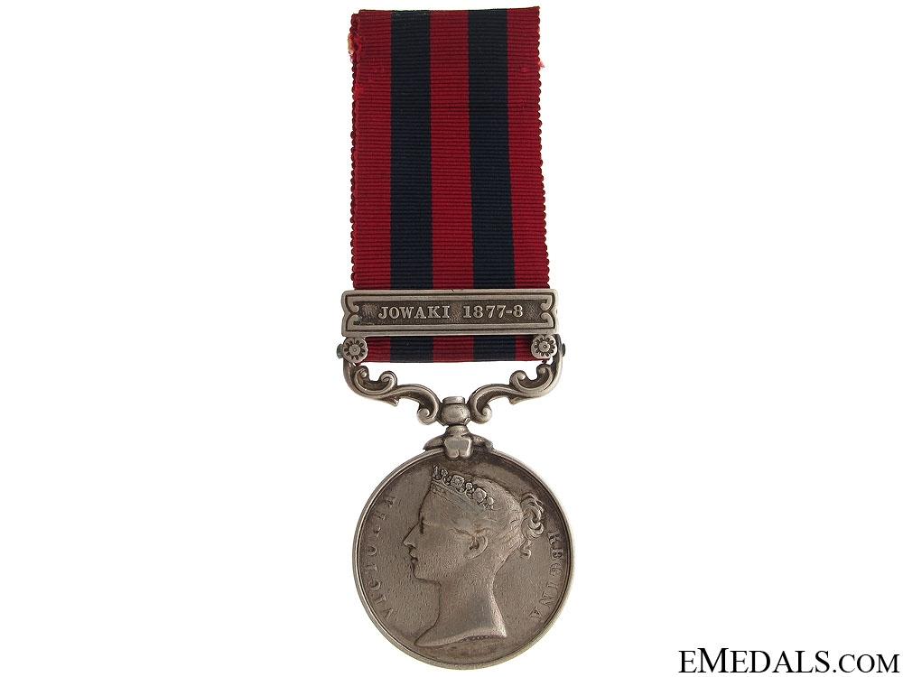 Inia General Service Medal 1854- JOWAKI