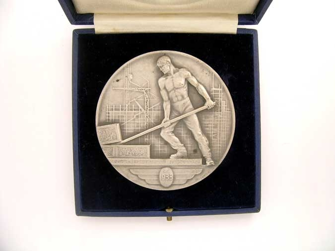 SWITZERLAND, PALAIS DES NATIONS MEDAL
