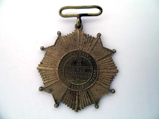 MEXICO, CROSS FOR FRENCH INTERVENTION