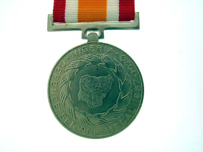 NIGERIA, Armed Forces Defence Medal