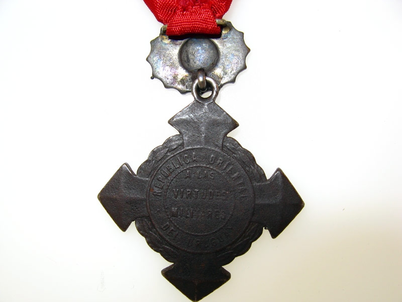 Uruguay, Republic, Commemorative Cross