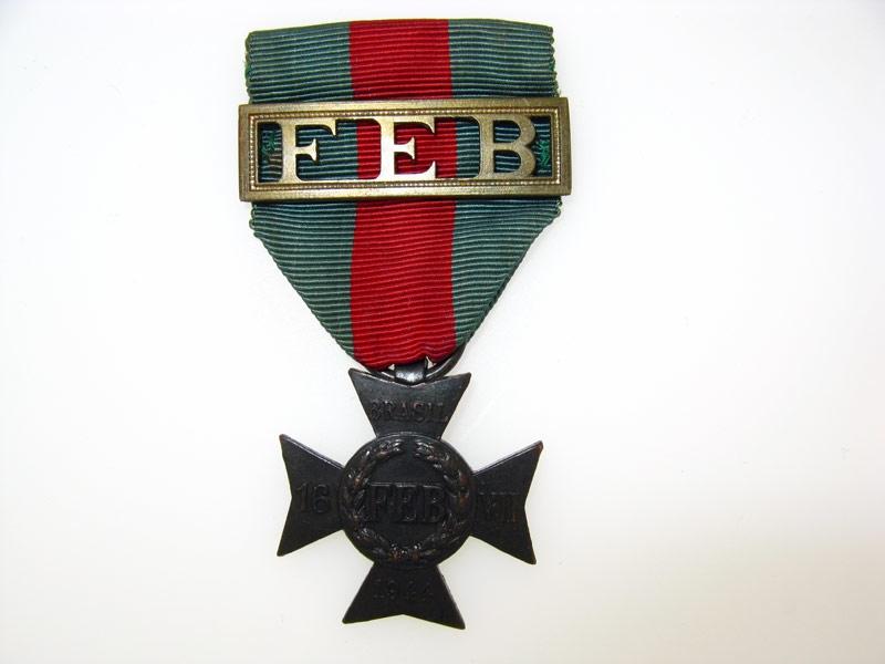 Brazil, Republic, FEB Cross 1944