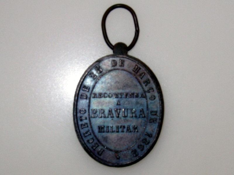 Brasil, Medal for Bravery 1868
