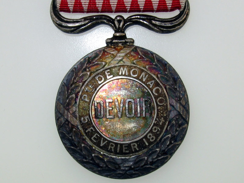 Monaco, Silver Civil Merit Medal