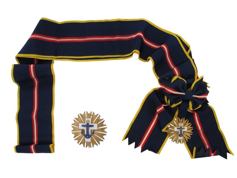 Peru. Cross of Naval Merit