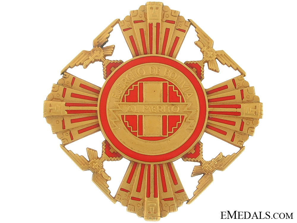 Bolivia, The Order of Merit