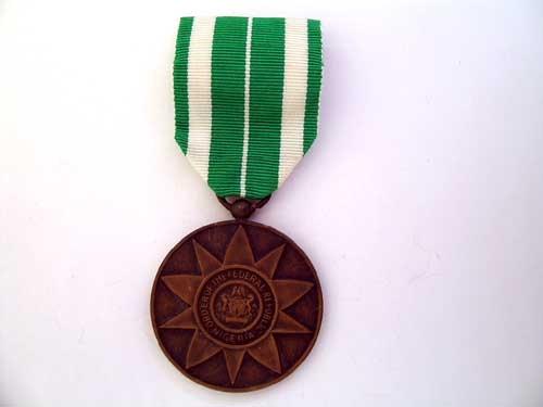 NIGERIA, ORDER OF THE FEDERAL REPUBLIC