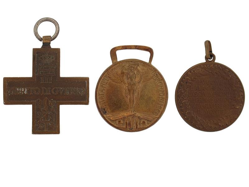 Three First War Medals