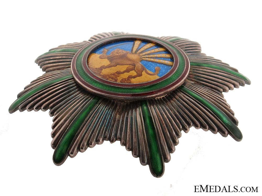 Order of Homayoun - Order of Lion & Sun