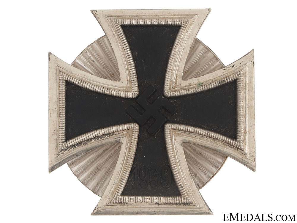 Iron Cross 1st. Cl.,- W. Deumer