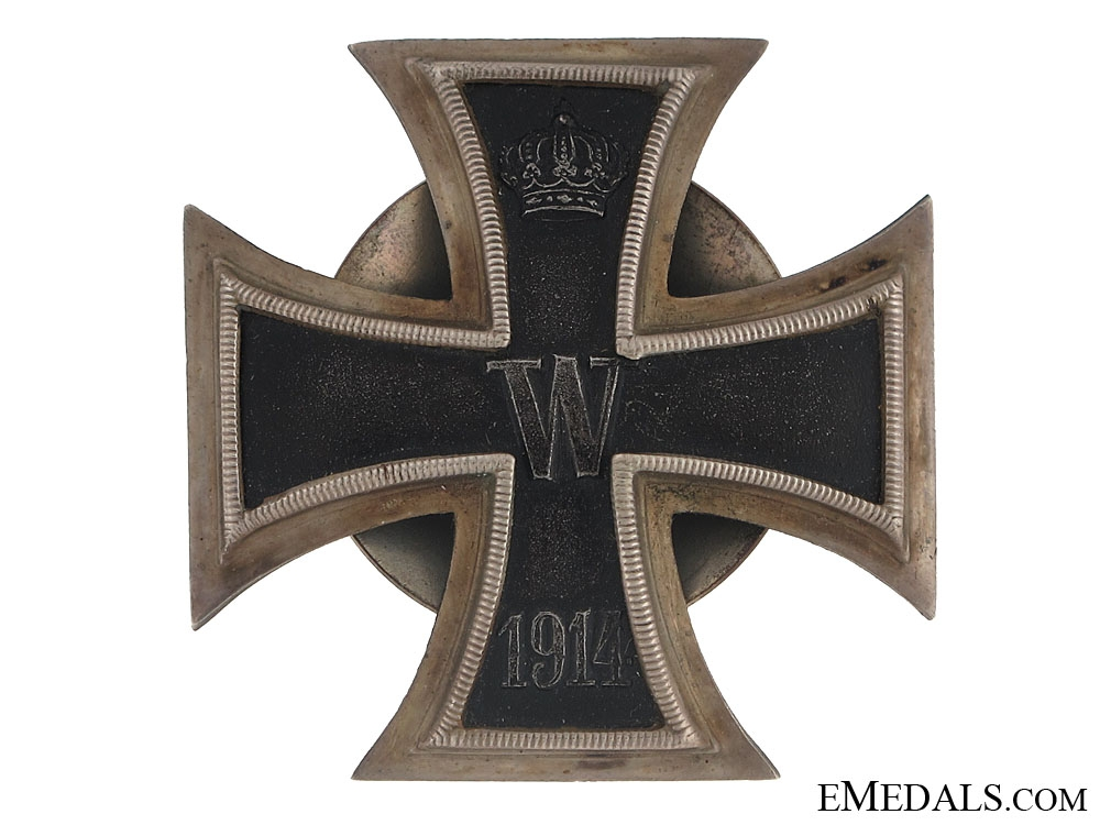 Iron Cross 1st. Cl. 1914 – screwback
