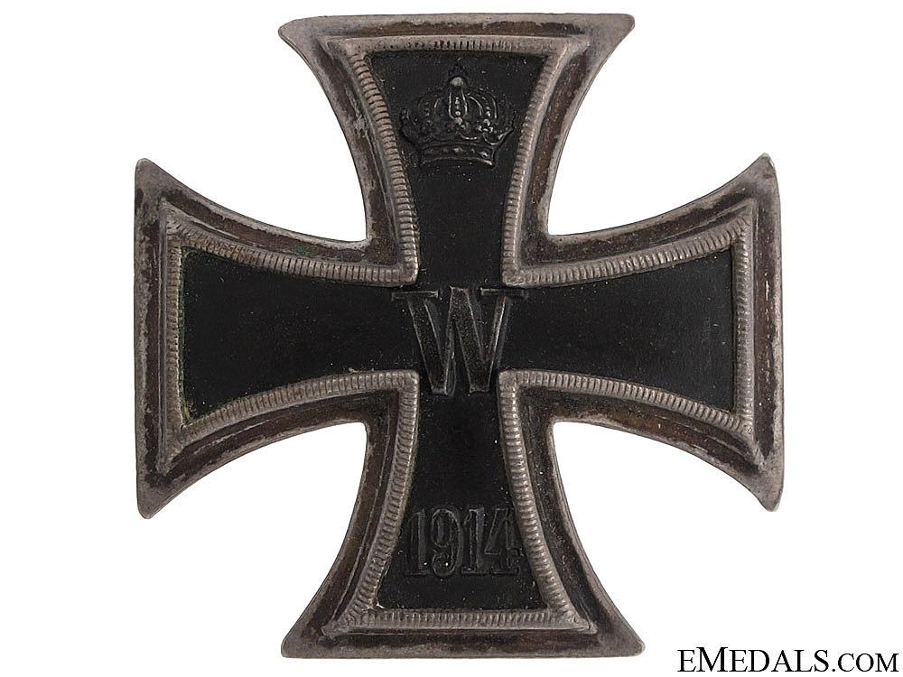Iron Cross 1st. Class 1914 – 800 Silver