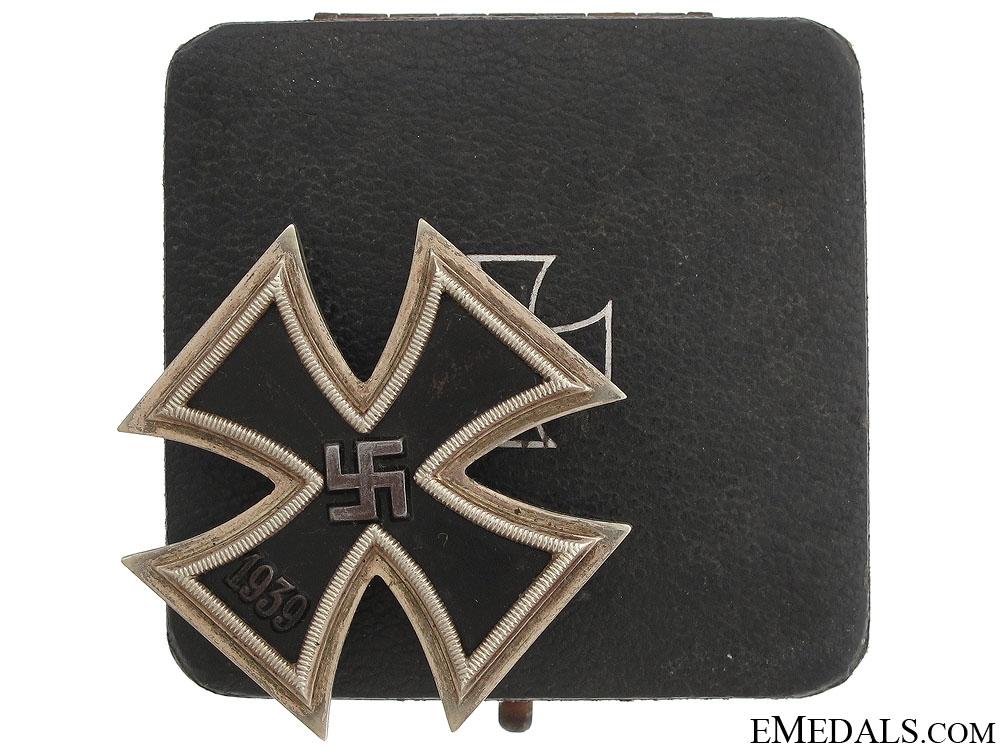 Iron Cross 1st Class 1939 by Stainhauer & Luck