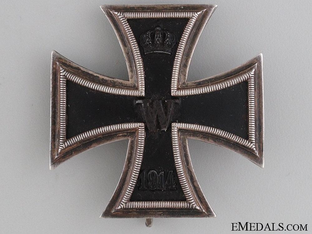 Iron Cross 1st Class 1914 by Godet Berlin