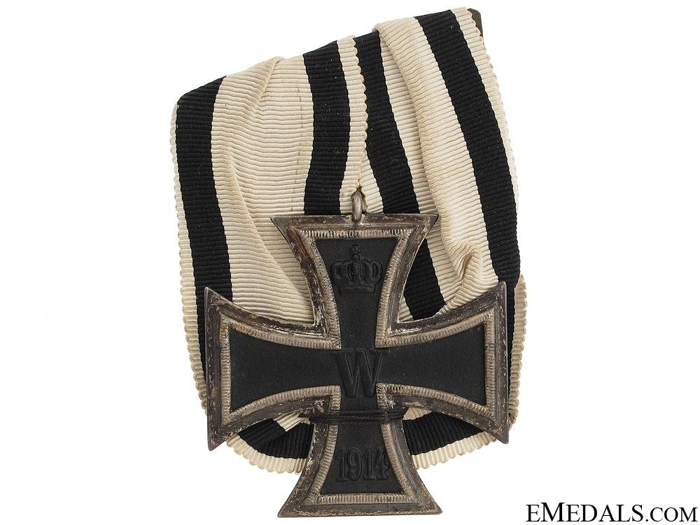 Iron Cross 2nd Class - Non-Combatant Ribbon