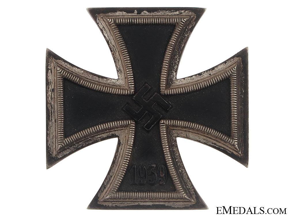 Iron Cross First Class 1939 – # 4