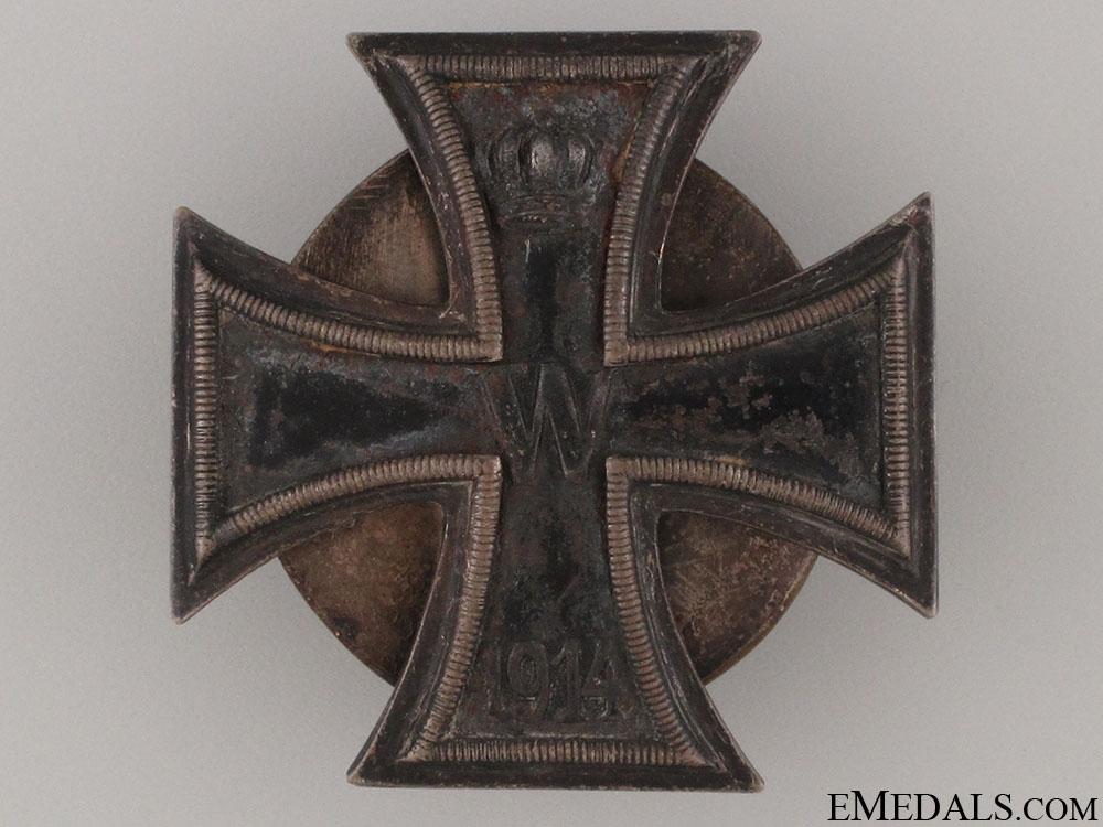 Iron Cross First Class 1914 - Screwback