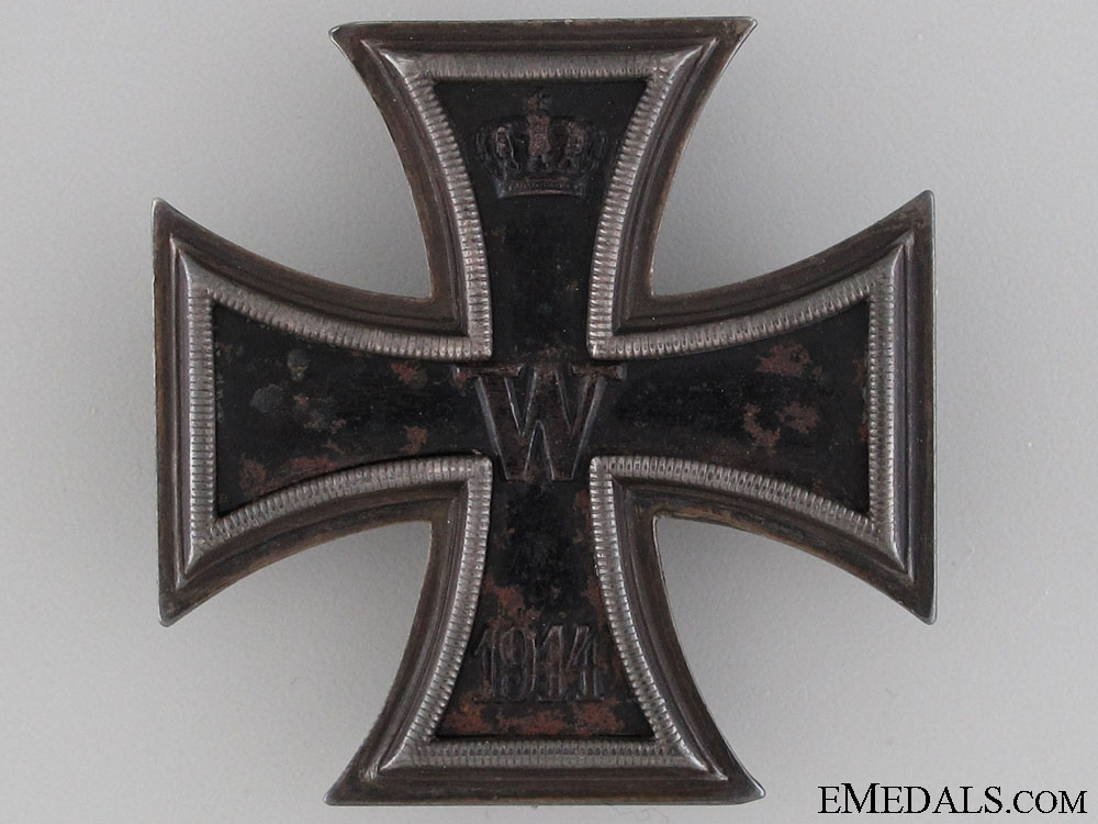 Iron Cross First Class 1914 - Named & Marked