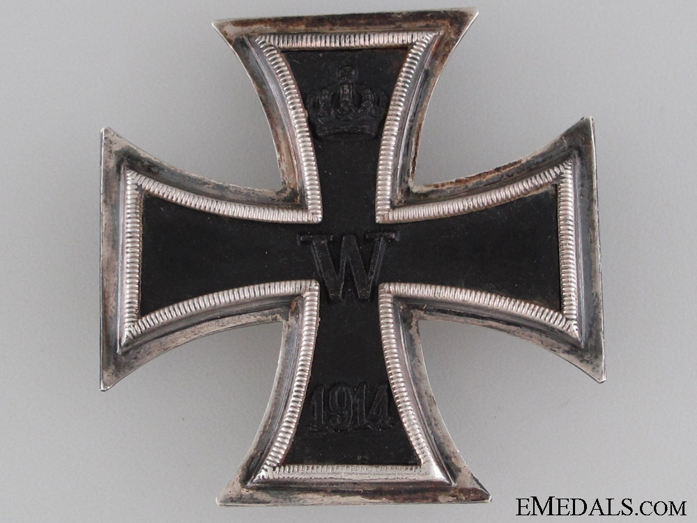 Iron Cross First Class 1914 by K.A.G.