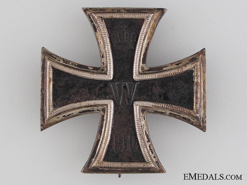 Iron Cross First Class 1914 - Marked