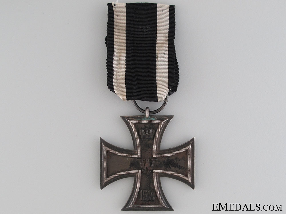 Iron Cross Second Class 1914 - Marked