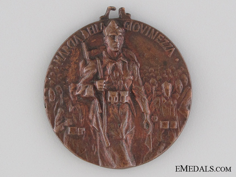 Italian Youth Volunteers Corps March Medal