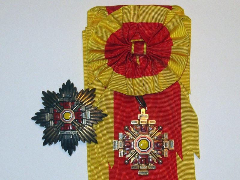 Manchukuo, the Order of the Pillars