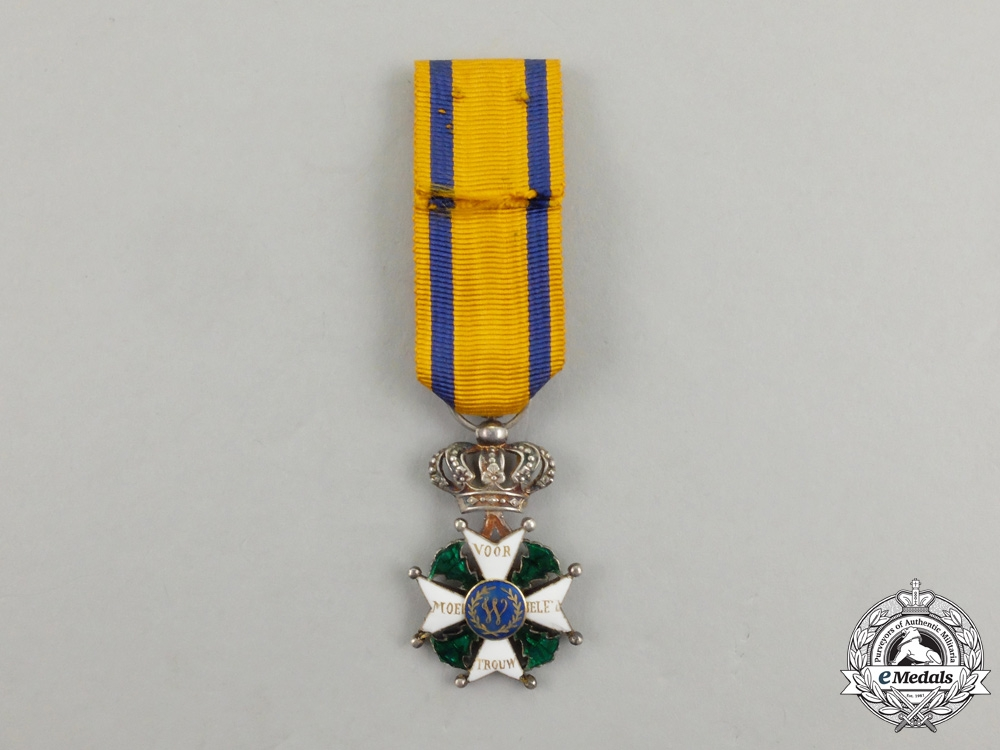 A Desirable & Early Military Order of William; 4th Class Reduced Size