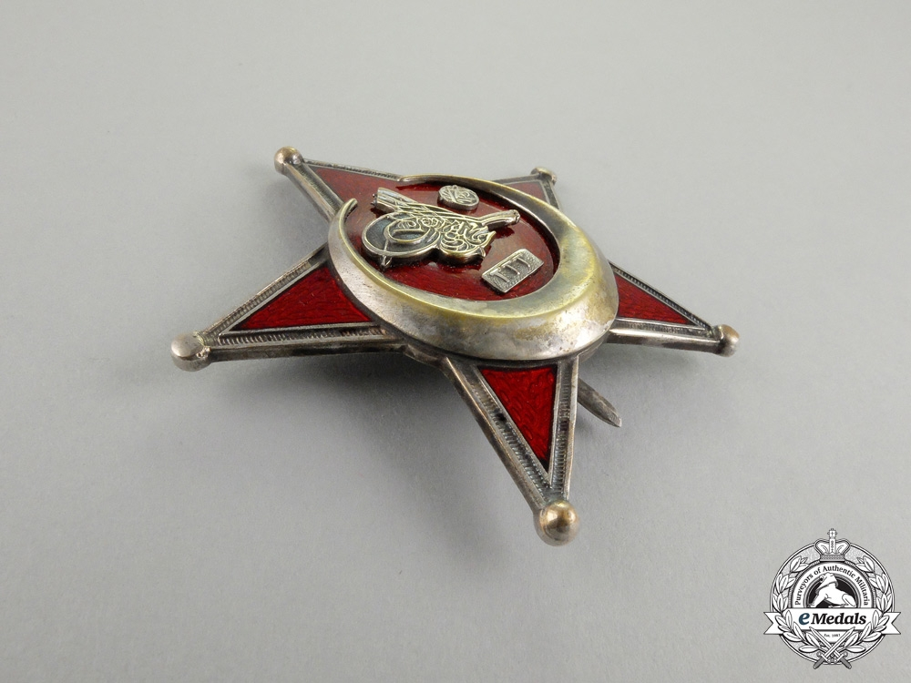 A Turkish 1915 Campaign Star (Iron Crescent)
