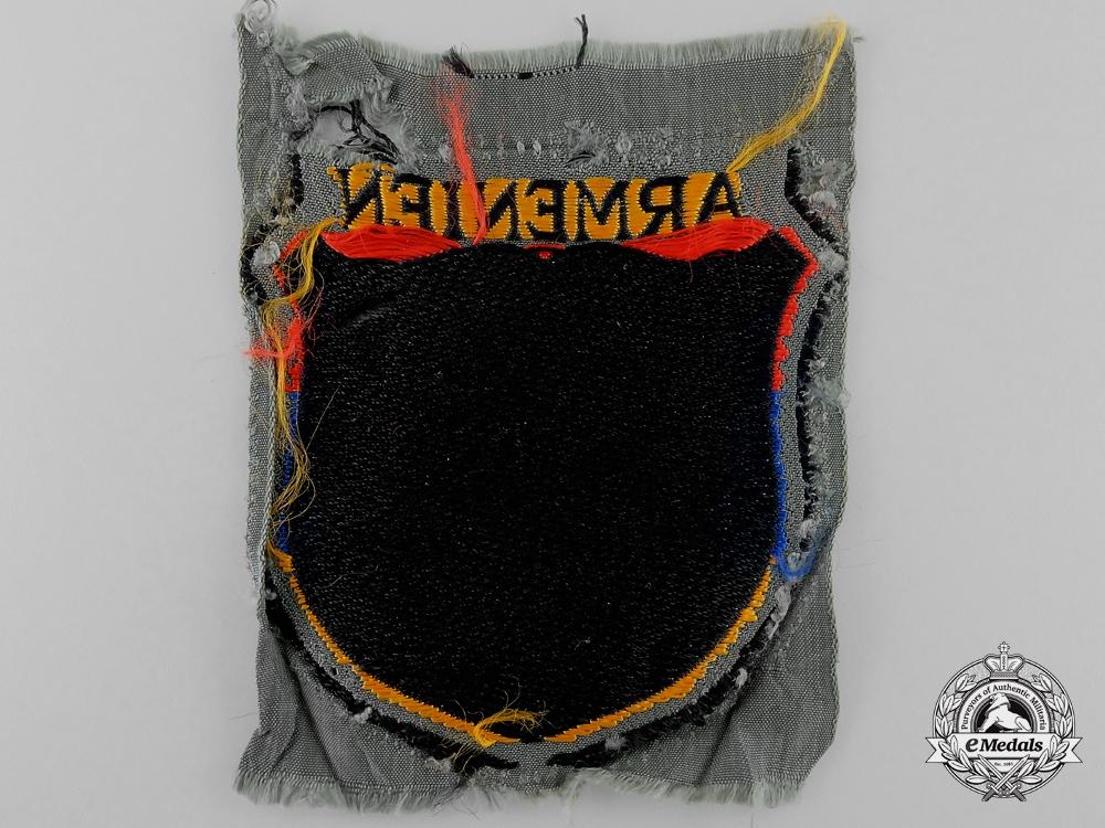 "A Waffen-SS ""Armenien"" (Armenian) Sleeve Shield"