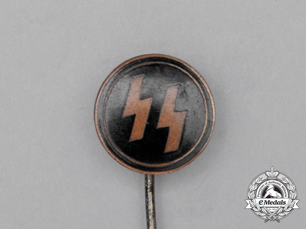 A SS Membership Stick Pin by Hoffstätter Bonn; Early Numbered 1878