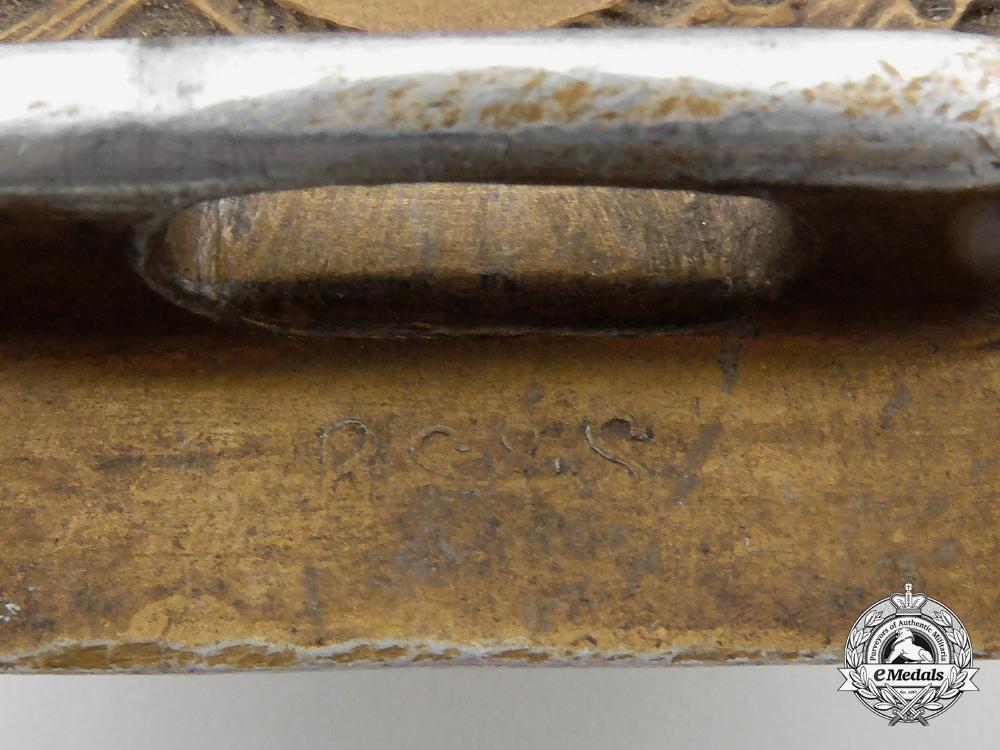 A Kreigsmarine Enlisted Man's Belt Buckle; End of War Dated 1945 by Richard Simm & Sohne