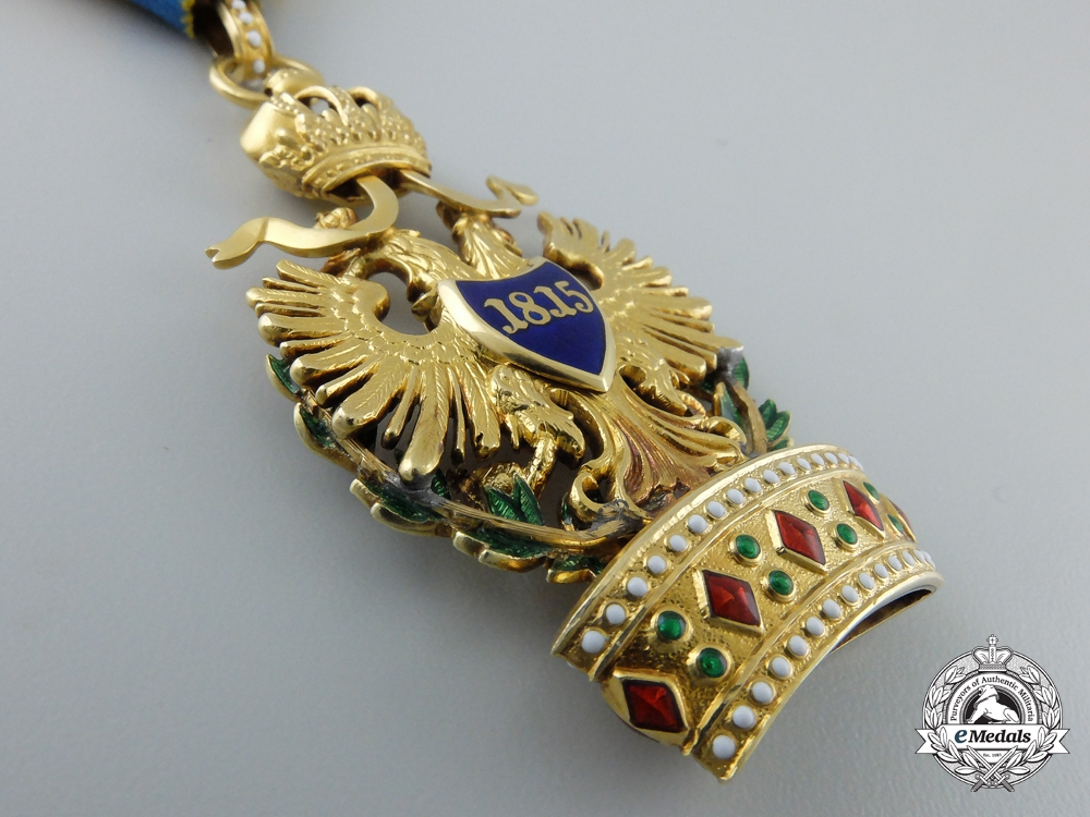 An Austrian Order of the Iron Crown in Gold by  Rozet & Fischmeister